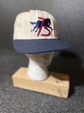 Vintage Billings Mustangs Hat - Pro Line Double Logo - Adult Fitted 7 1/8