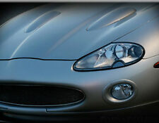 Jaguar XK8 & XKR Black European Style Mesh Grille Assembly 97-2004 Powder coated