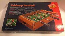 NIB Just For Fun - Mini Tabletop Foosball Soccer Game