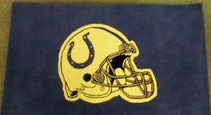 NFL Indianapolis Colts 3X5 Rug   New In Box