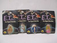 Vintage 1982 E.T. The Extra Terrestrial E.T. Rubber Figures 4 Different LJN NOC