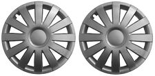 14'' Covers Hub caps  Wheel trims for Caravans with 14'' wheels silver 2 x 14''