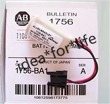 NEW Original AB 1756-BA1 3V Allen Bradley PLC battery with plug #T3252 YS