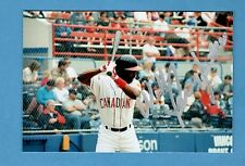 "1996 WILL PENNYFEATHER-PCL-VANCOUVER CANADIANS  AUTOGRAPHED  4X6 "" COLOR PHOTO"