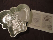 Wilton ROMANTIC CUPID Cake Pan with Instructions #502-4262 Baking Cakes