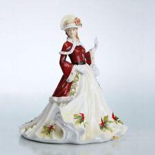 The English Ladies Co - Seasons Greetings Figurine