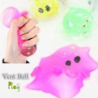 US Anti-stress Decompression Splat Ball Vent Toy Smash Various Styles Pig Hot