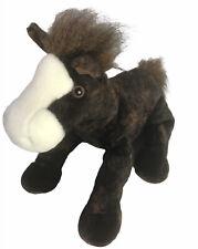 "Aurora Brown Horse Pony Plush Floppy Stuffed 13"""