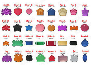 Pet Tags Custom Engraved Paw ID Tag Dog Tag Cat Quality Free Ship