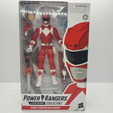 New listing Power Rangers Lightning Collection 6-Inch Mighty Morphin Red Ranger Collectible