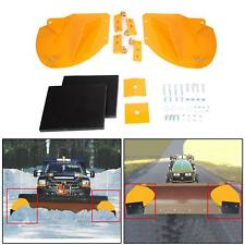 "New Snow Plow Extensions Add 20"" To Your SnowPlow PRO WINGS Yellow"