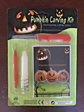 Lot Of 3 Pumpkin Carving Kits With Candles New 🎃