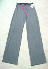 Grey Wide Leg Cotton/Lycra Trouser - New made 1990's Small/Med - ONE OFF SAMPLE