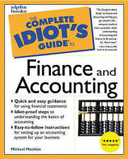 The Complete Idiot's Guide to Finance and Accounting-ExLibrary