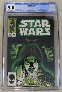 STAR WARS vol.1  #84 CGC 9.0 Han & Chewie Story (Marvel Comics)!