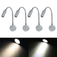 Wall Mounted LED Reading Light Bed Bedside Lamp Flexible Adjust Warm White/White