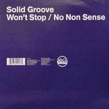 "Solid Groove Won't stop/No non sense (UK, 2000) [Maxi 12""]"