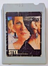1978 STYX PIECES OF EIGHT, 8T-4724, 8 Track Stereo Tape Cartridge, A&M Records