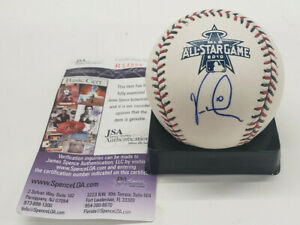 Vernon Wells Blue Jays Autograph 2010 All-Star Game Auto Baseball JSA