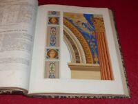 CESAR DALY / REVUE GENERALE DE L'ARCHITECTURE Relié XII - 15e année 1854