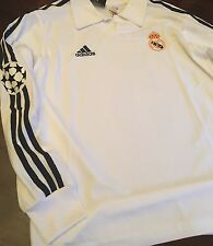 Real Madrid Large Retro Remake Zidane 5 2002 centenary Shirt Champions League