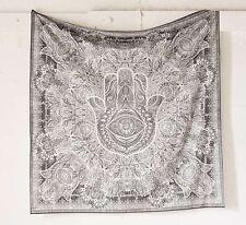 Fatima Hand Hamsa Tapestry Indian Mandala Wall Hanging Throw Bedspread Decor Art