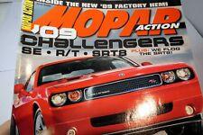 MOPAR Action Magazine August 2008 Challengers SE R/T SRT8, plus flog