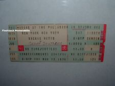 DICKIE BETTS 1978 Concert Ticket Stub MATEUS AT THE PALLADIUM NYC Great Southern