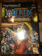 Shonen Jump One Piece Pirates' Carnival (PlayStation 2, PS2)