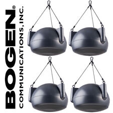"4 Bogen OPS1B 6.5"" Orbit Pendant Speakers Dark Gray Hanging + Suspension 100W"