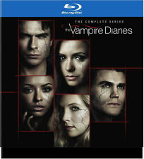 THE VAMPIRE DIARIES: THE COMPLETE SERIES (30 PC) - BLU RAY - Region free