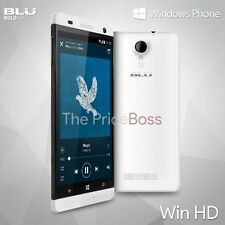 Blu Win HD W510U Unlocked Dual SIM 8MP Windows Unlocked Phone White Open Box