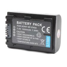 NEW PROOCAM NP-FH50 CHARGER Battery SONY CAMERA DSLR-A230 A330 A290 A390