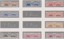 Somalia 1928/41 Pacchi Postali 54/57+59+62/65 MH