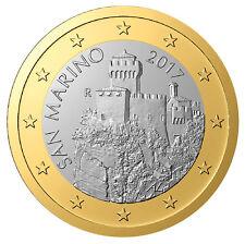 San Marino -  1 Euro 2017 Bi-Metallic  (New Design)  UNCIRCULATED