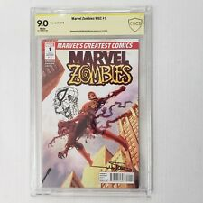 Marvel Zombies MGC 1 CBCS NOT CGC 9.0 Signed by  Arthur Suydam WITH HEAD SKETCH