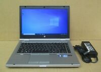 "HP Elitebook 8470p 14"" HD i5-3380M 2.9Ghz 4GB Ram 320GB HDD Win10 Pro Laptop"