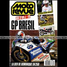 MOTO REVUE N°2862 SUZUKI RM 125 KTM 600 ECUREUIL THIERRY MICHAUD BOL D'OR 1988