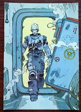Carte postale Exterminateur 17,Enki Bilal,humanoides associés  postcard