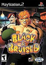 Black & Bruised (PlayStation 2) COMPLETE PS2