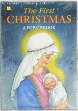 THE FIRST CHRISTMAS A Golden Pop-Up Book  SEALED *  NEW 1993 ISBN 0-307-12464-9
