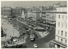 Photo Argentique Marseille Le Vieux Port Vers 1950/60