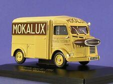 "ELIGOR 1/43 CITROEN H HY  CAMIONNETTE FOURGON PUB ""MOKALUX"" 1951 !!"