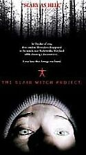 The Blair Witch Project with Heather Donahue - Brand New / Sealed (Vhs, 1999)