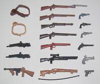 Playmobil Accessoire Personnage Figurine Fusil Arme à Feu Gun Modèle au Choix