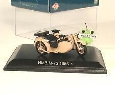 1:43 IMS M-72 russian Motorrad ex BMW R71 DIP Motorcycle Spark USSR UdSSR URSS