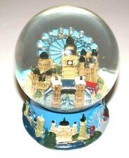 "Elgate London Big Ben, Ferris Wheel & Other London Attractions 5.5"" Snow Globe"