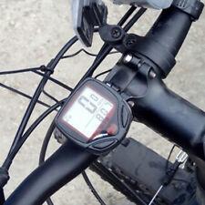 1X Vélo Chronographe Écran LCD Odomètre Compteur Vitesse Speedometer Imperméable