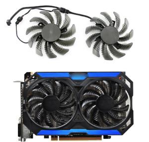 Fan T128010SM  For Gigabyte GTX 960 GV-N960OC GPU Card Cooler PLD08010S12H Fans
