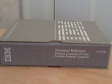 IBM PC Technical Reference Rare Volume Personal Computer XT and Portable PC